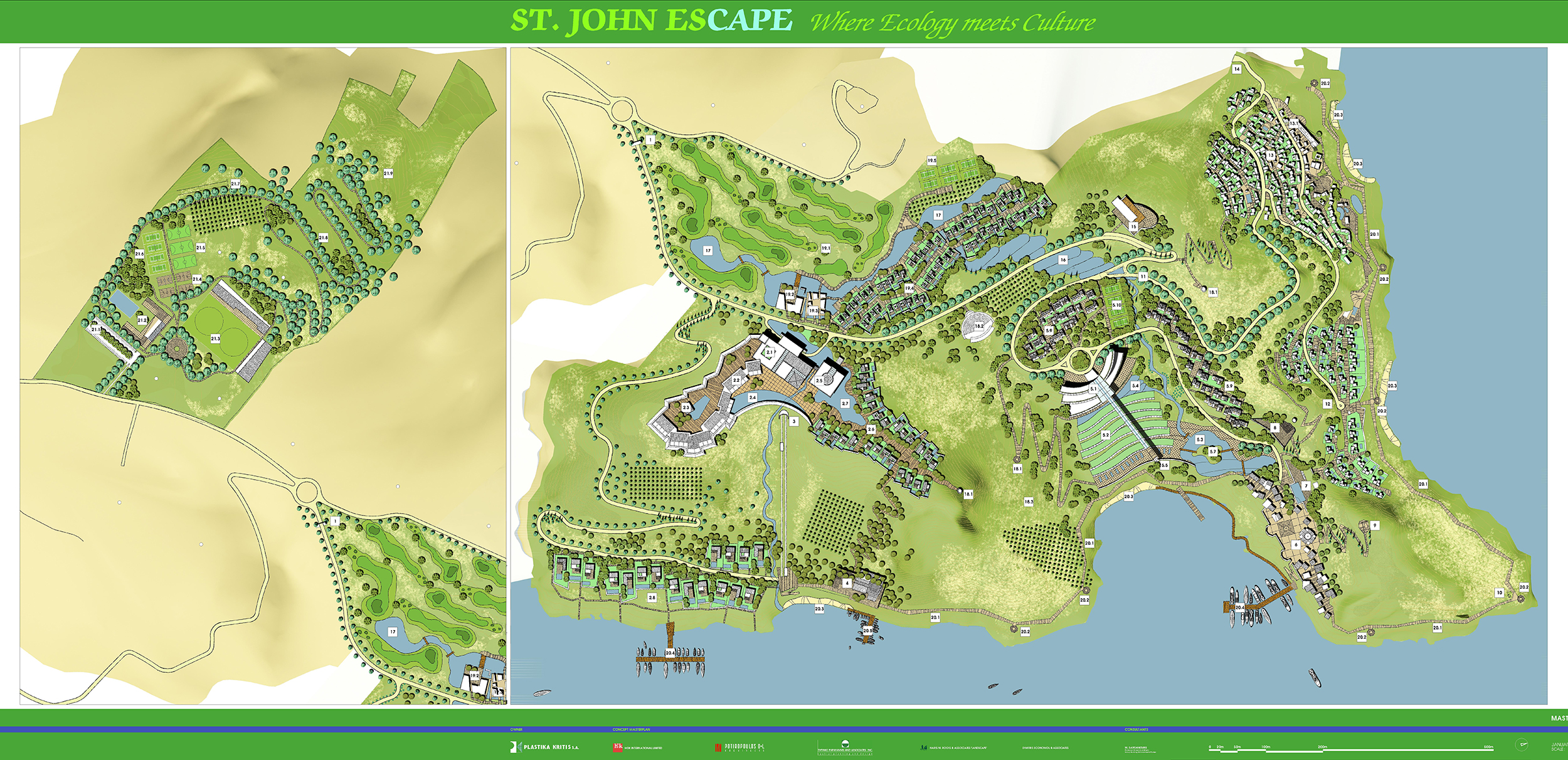 ST. JOHN ESCAPE