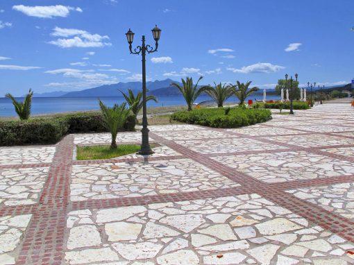 Αρχιτεκτονική ανάπλαση παραλιακού πεζόδρομου Αγ. Αννας
