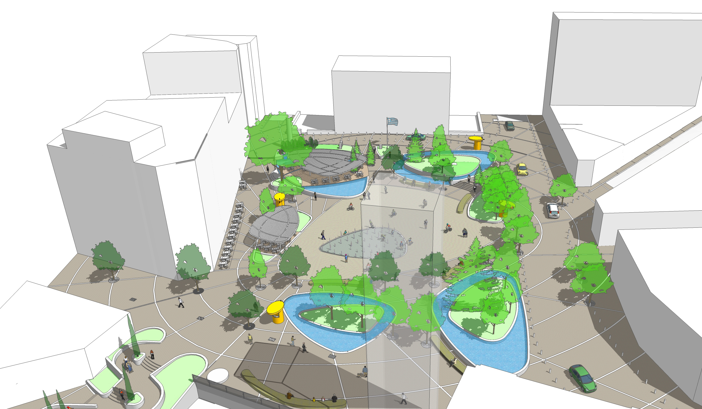 "PANHELLENIC ARCHITECTURAL COMPETITION: ""REDESIGN OF CENTRAL SQUARE NIKIS – KOZANI"""