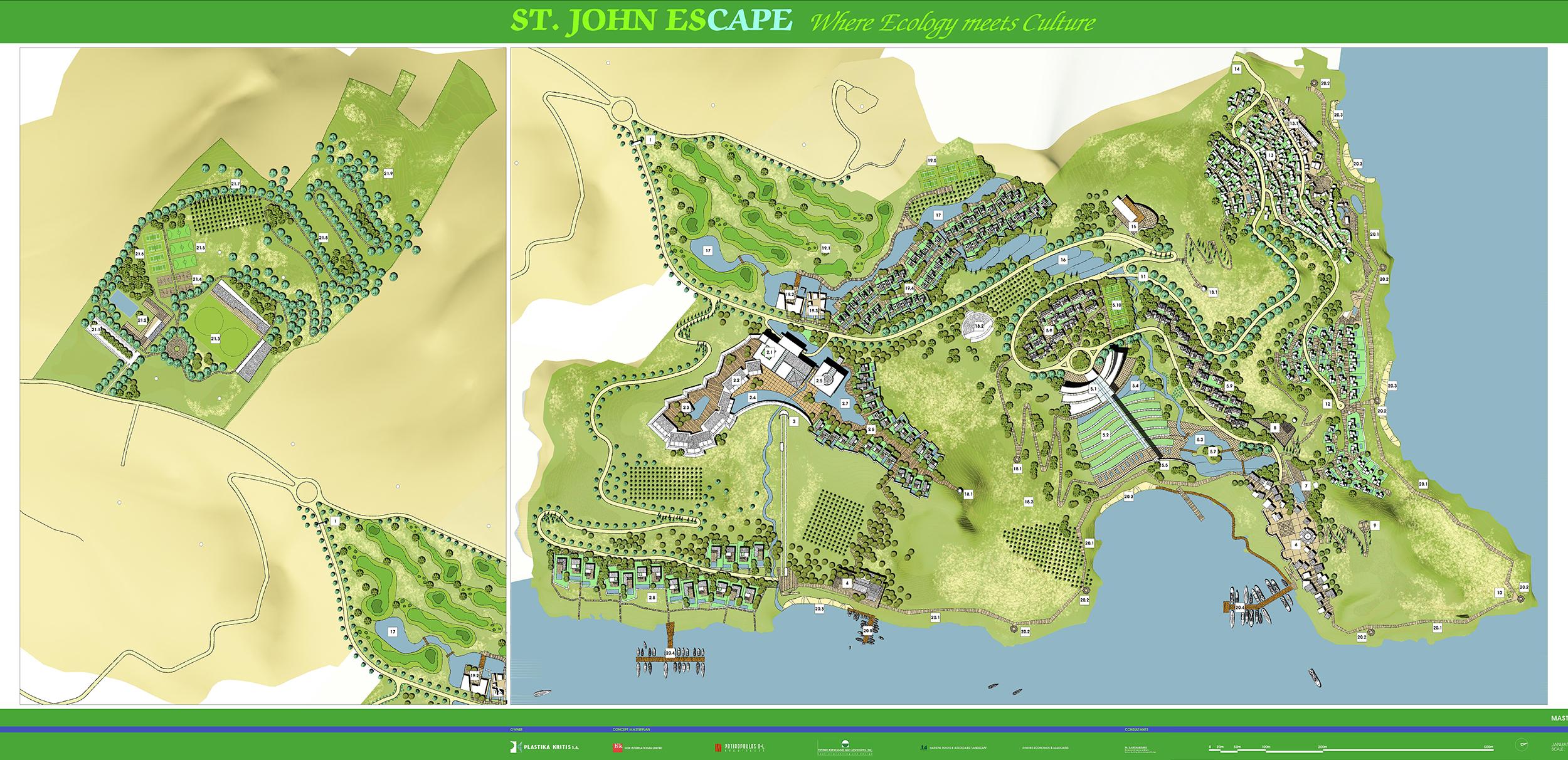 ST. JOHN ESCAPE