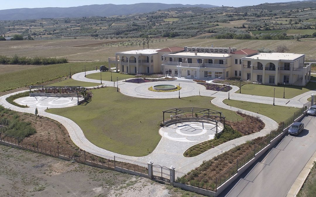 Completion of nursing home in Terpni, Serres