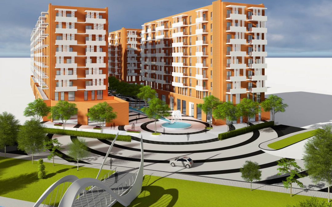 New project in Tirane, Albania